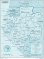 Gabon - Mapsof.Net Map