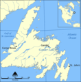 Gander Lake Map - Mapsof.net