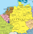 Germany And Belgium Map - Mapsof.Net Map