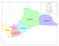 Greater Accra Districts - Mapsof.Net Map