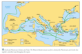 Greek Trade Roads Map - Mapsof.Net Map