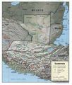 Guatemala Geopolitical - Mapsof.Net Map