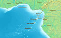 Gulf of Guinea (english) - Mapsof.Net Map