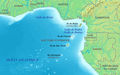 Gulf of Guinea Fr - Mapsof.Net Map