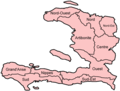 Haiti Departments Named - Mapsof.net