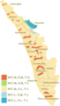 Hazard Map of Kerala - Mapsof.Net Map