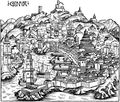 Historical Ancient Map of Genoa - Mapsof.net