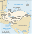 Honduras Cia Wfb Map - Mapsof.Net Map