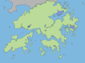 Hong Kong Outline Map - Mapsof.net