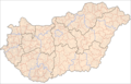 Hungary Administrative Divisions - Mapsof.net