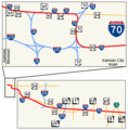 I 70 Missouri 1 - Mapsof.Net Map