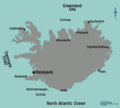 Iceland Map - Mapsof.Net Map