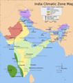 India Climatic Zone Map - Mapsof.net