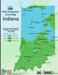 Indiana Plant Hardiness Zone Map - Mapsof.net