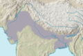 Indo Gangetic Plain - Mapsof.Net Map