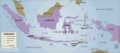 Indonesia Country Map 2 - Mapsof.Net Map