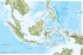 Indonesia Physical Map - Mapsof.Net Map