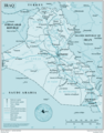 Iraq - Mapsof.Net Map