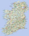 Ireland Map Big 1 - Mapsof.Net Map