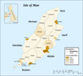 Isle of Man Sheadings And Parishes - Mapsof.net