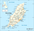 Isle of Man Map Fr - Mapsof.net
