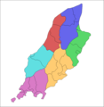 Isle of Man Parishes By Sheading - Mapsof.net
