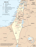 Israel 1 - Mapsof.Net Map