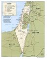 Israel Policital Map - Mapsof.Net Map