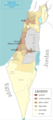Israel Population Density Map - Mapsof.Net Map