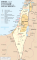 Israel West Bank Gaza Strip And Golan Heights - Mapsof.Net Map