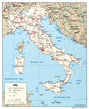 Italy Political Map 2004 - Mapsof.Net Map