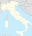 Italy Blank Map With Regions - Mapsof.net