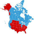 North America - Mapsof.net