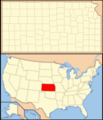 Kansas Locator Map With Us - Mapsof.net