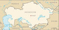 Kazakhstan Kengir Camp - Mapsof.Net Map