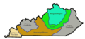 Kentucky Regions - Mapsof.net