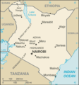 Kenya Cia Wfb Map - Mapsof.Net Map