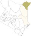 Kenya Mandera District - Mapsof.net