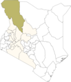Kenya Turkana District - Mapsof.Net Map