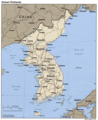 Korean Peninsula - Mapsof.Net Map
