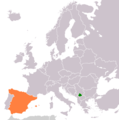Kosovo Spain Locator 1 - Mapsof.net