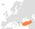 Kosovo Turkey Locator - Mapsof.net