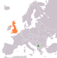 Kosovo United Kingdom Locator - Mapsof.net