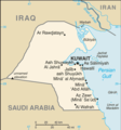 Kuwait Cia Wfb Map - Mapsof.Net Map