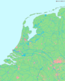 La2 Demis Netherlands - Mapsof.Net Map