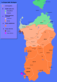 Languages Map of Sardinia - Mapsof.Net Map