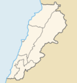 Lebanon Governorates Color - Mapsof.net