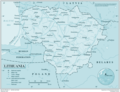 Lithuania - Mapsof.Net Map