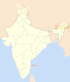 Location Map of Chennai - Mapsof.Net Map