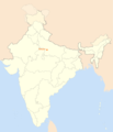 Location Map of Kanpur - Mapsof.Net Map
